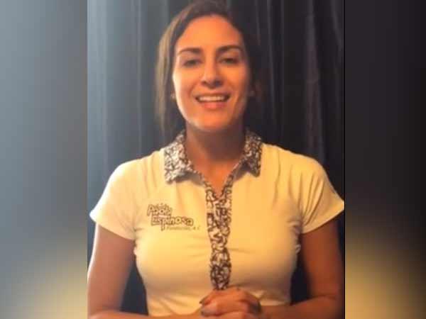 Clavadista Paola Espinosa